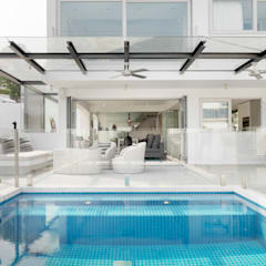 Clearwater Bay House:  Pool by Original Vision, Modern