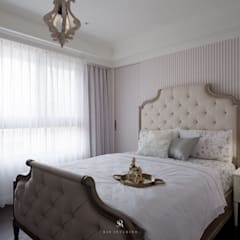 Small bedroom by 理絲室內設計有限公司 Ris Interior Design Co., Ltd.