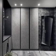 霏霧.烟波|Fog Floated:  走廊 & 玄關 by 理絲室內設計有限公司 Ris Interior Design Co., Ltd.