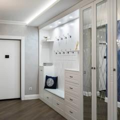 GLAZOV design group концептуальная студия дизайна интерьеров의  복도 & 현관