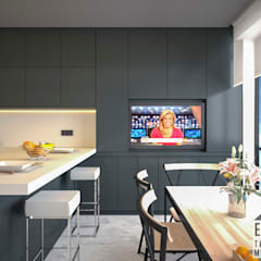 E2 TASARIM & MİMARLIK – MUTFAK TASARIMI:  tarz Ankastre mutfaklar