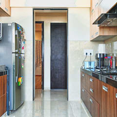Kitchen units by HomeLane.com,