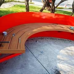 Decks: Jardines de invierno de estilo  por Grupo Harbo, Moderno