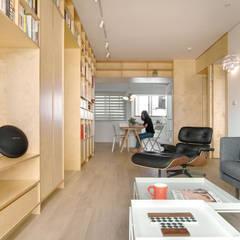 Apartment L:  餐廳 by 六相設計 Phase6