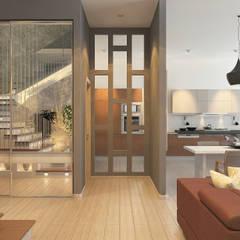 дом в Стамбуле: Дома с террасами в . Автор – N Group