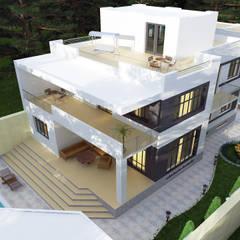 дом в Анкаре: Дома с террасами в . Автор – N Group