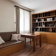 舍子美學設計有限公司が手掛けた書斎