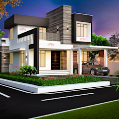 خانه ها by CreoHomes Pvt Ltd