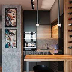 Small kitchens by Дизайн студия 'Дизайнер интерьера № 1'