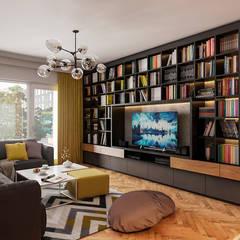 Beta İç Mimarlık – ANB Evi:  tarz Oturma Odası