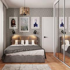 Beta İç Mimarlık – ANB Evi:  tarz Yatak Odası