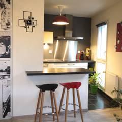 INSPIRATION CINÉMA : Petites cuisines de style  par MIINT - design d'espace & décoration,