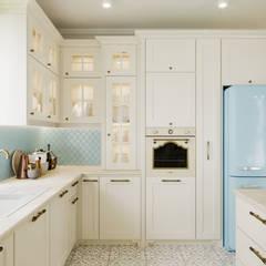 Kuchnia i salon w stylu prowansalskim/klasycznym: styl , w kategorii Kuchnia na wymiar zaprojektowany przez Smart Design Wnętrza,Klasyczny Drewno O efekcie drewna