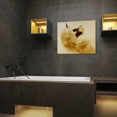 에클레틱 욕실 by Fliesen-Keramik Wunsch GmbH 에클레틱 (Eclectic) 타일