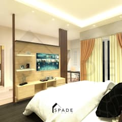 Small bedroom by SPADE Studio Indonesia