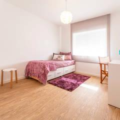 غرفة نوم تنفيذ MOYO Concept,