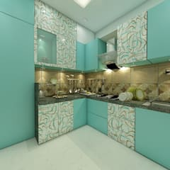Kitchen units by Peak Interior,