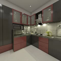 Small kitchens by Peak Interior
