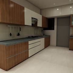 Kitchen units by Peak Interior