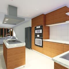 HOUSE MONTGOMERY:  Kitchen by NDLOVU DESIGNS