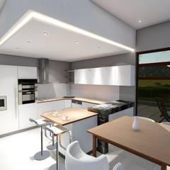 HOUSE MONTGOMERY:  Kitchen by NDLOVU DESIGNS,
