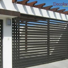 Sliding doors by decoferro arte en hierro,