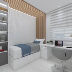 Cuartos pequeños de estilo  por Sph Interiores