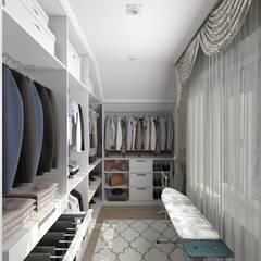 Walk in closet de estilo  por #martynovadesign