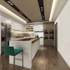 ครัวสำเร็จรูป by 台中室內設計-築采設計