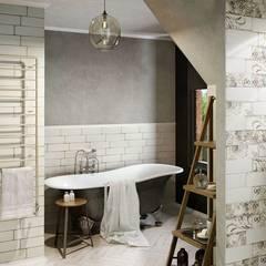Rustic style bathrooms by Ceramika Paradyz Rustic