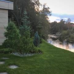 HI-TECH на обломках мегалитового комплекса: Сады в . Автор – GREENS архитектурно-ландшафтное бюро