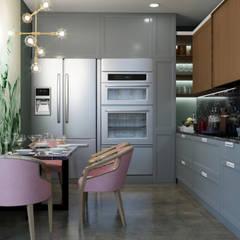 Dapur kecil  by Дизайнер интерьера Пономарева Анна