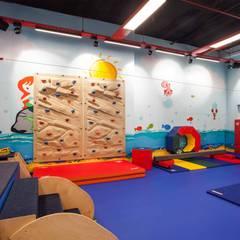Pebbledesign / Çakıltașları Mimarlık Tasarım – My Gym Çocuk Aktivite ve Spor Merkezi:  tarz Etkinlik merkezleri
