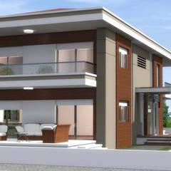 ANTE MİMARLIK  – İzzettin D. - Villa:  tarz Evler, Modern