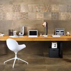 Tigua - kolekcja płytek ceramicznych: styl , w kategorii Pokój multimedialny zaprojektowany przez Ceramika Paradyz