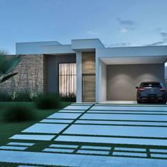 منزل عائلي صغير تنفيذ Rissetti Arquitetura