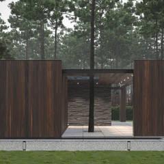 Passive house by Bezmirno, Minimalist