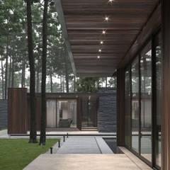 Flat roof by Bezmirno