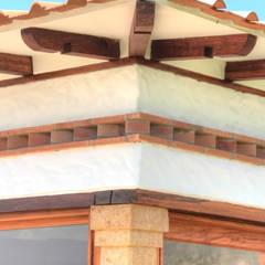 Telhados de quatro águas  por cesar sierra daza Arquitecto