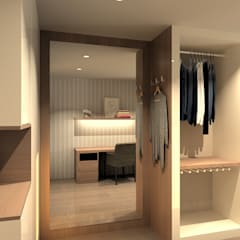 Dressing room by QOTDA Design