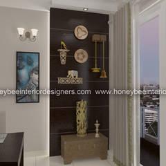 :  Dining room by Honeybee Interior Designers