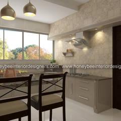 :  Kitchen by Honeybee Interior Designers