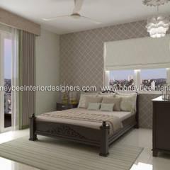 :  Bedroom by Honeybee Interior Designers