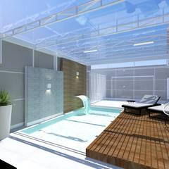Residência: Piscinas de jardim  por INOVAT Arquitetura e interiores