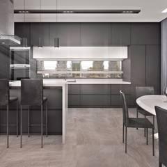 Частный Дом: Встроенные кухни в . Автор – FIMA design