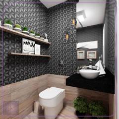 ห้องน้ำ โดย MD&D Arquitetura e Interiores,