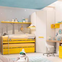 ห้องนอนเด็กชาย by SAK Recamaras Infantiles