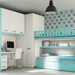 Boys Bedroom by SAK Recamaras Infantiles, Modern