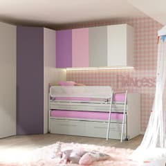 Girls Bedroom by SAK Recamaras Infantiles