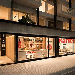 Proyecto Lugones Estudios y oficinas estilo escandinavo de R2arquitectos Escandinavo